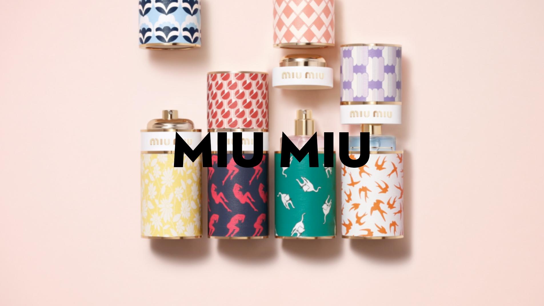 MIU MIU // EAUX DE MODE